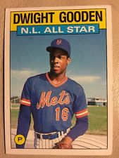 Dwight Gooden card 1986
